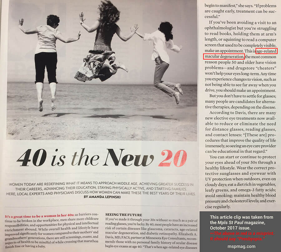 Article of 40 is the New 20