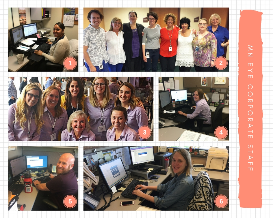 MN Eye Corporate Staff Collage
