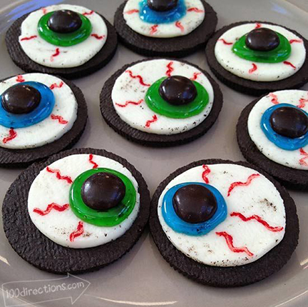 Oreo Eyeball Cookies