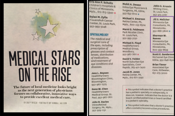 Medical Stars on the Rise Article