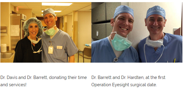 Our Doctors at Operation Eyesight