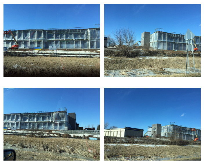 Woodbury Location Construction Progress