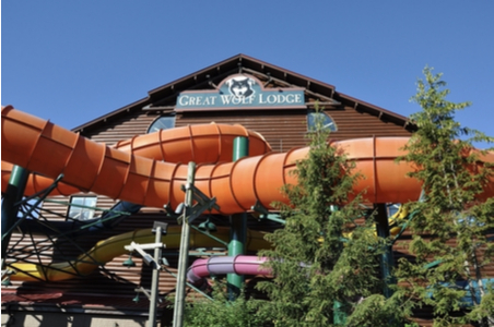Great Wolf Lodge Water Slide