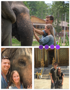 Dr. Boots and her husband in Thailand